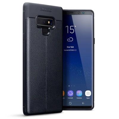 Terrapin Θήκη TPU Leather Design Samsung Galaxy Note 9 - Black (118-002-720)