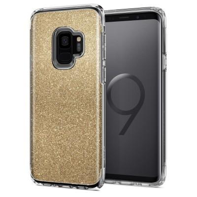 Spigen Samsung Galaxy S9 Slim Armor Crystal Glitter Gold (592CS22885)
