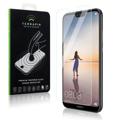 Terrapin Tempered Glass - Αντιχαρακτικό Γυάλινο Screen Protector Huawei P20 Lite