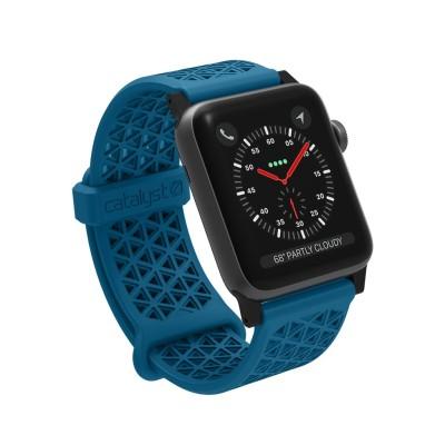 Catalyst Ανταλλακτικό Λουράκι Σιλικόνης Apple Watch 3/2/1 - 42mm - Blueridge/Sunset