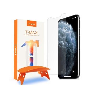 T-MAX Liquid Full Glue 3D Tempered Glass - Σύστημα Προστασίας Οθόνης iPhone 11 Pro/X/XS