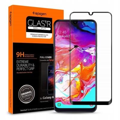 Spigen Galaxy A70 Screen Protector GLAS.tR FC (620GL26384)