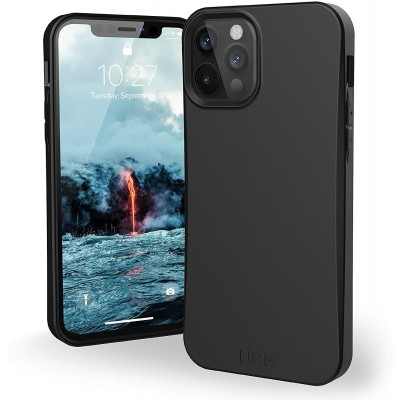 UAG Θήκη Biodegradable Outback Series Apple iPhone 12 / 12 Pro - Black (112355114040)