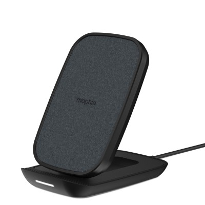 Mophie Wireless Charging Stand Σταθμός Ασύρματης Φόρτισης Quickcharge 10W – Ultrasuede / Black (401304099)
