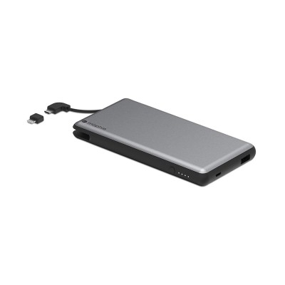 Mophie Powerstation Plus XL Φορητή Μπαταρία Φόρτισης (Power Bank) - 12.000mAh - Grey (8-10472-03661-8)