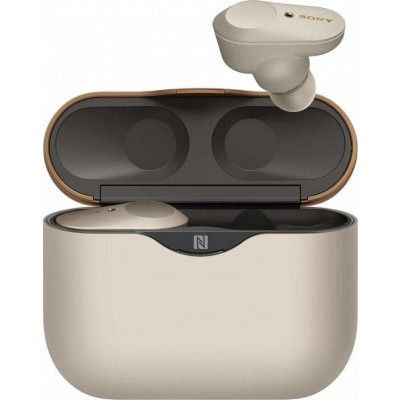 Sony Bluetooth Headset WF-1000XM3 Ασύρματα Ακουστικά - Silver (WF1000XM3S.CE7)