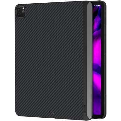"Pitaka MagEz Case Θήκη Aramid Fiber Body - iPad Pro 12.9"" 2018 / 2020 - Black / Grey (KPD2002P)"