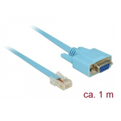 Delock Cisco Serial Adapter RS-232 > RS-232 RJ45 1m (63341)