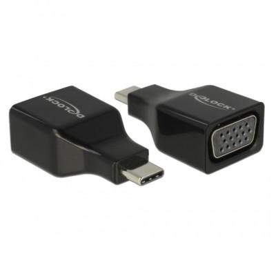 Delock USB-C 3 > VGA M/F (63933)