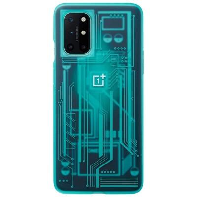 OnePlus Official Quantum Bumper Case Σκληρή Θήκη OnePlus 8T - Cyborg Cyan (5431100178)