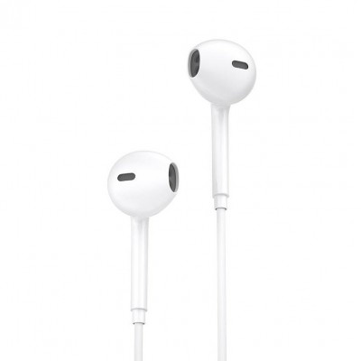 Ακουστικά Hands Free WK Y19 Lightning Wired - White (200-105-604)