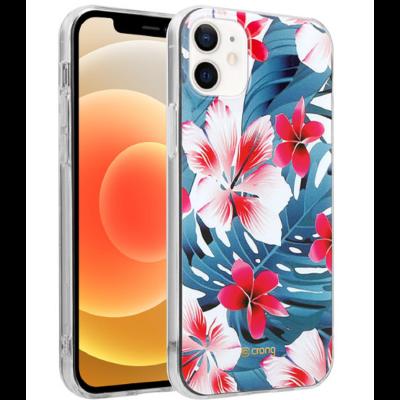Crong Flower Θήκη Σιλικόνης Apple iPhone 12 mini - Pattern 03 (CRG-FLR-IP1254-03)