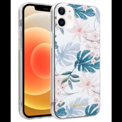 Crong Flower Θήκη Σιλικόνης Apple iPhone 12 mini - Pattern 01 (CRG-FLR-IP1254-01)
