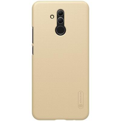 Θήκη Super Frosted Shield για Huawei Mate 20 Lite by Nillkin χρυσή