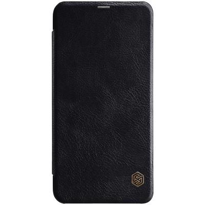 Δερμάτινη θήκη-πορτοφόλι QIN Leather by Nillkin μαύρο για Xiaomi Redmi Note 6 Pro