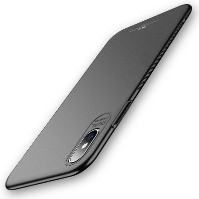 MSVII Super Slim Σκληρή Θήκη iPhone Xs Max Black