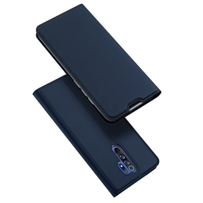 Duxducis Θήκη - Πορτοφόλι Xiaomi Redmi 9 - Blue (200-106-651)