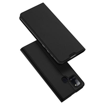 Duxducis SkinPro Flip Θήκη για Samsung Galaxy A21s - Black (200-106-013)