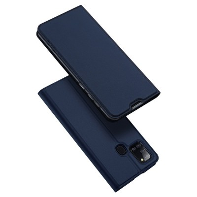 Duxducis SkinPro Flip Θήκη για Samsung Galaxy A21s - Blue (200-106-012)