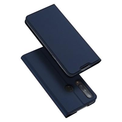 Duxducis Θήκη - Πορτοφόλι Huawei P40 Lite E - Blue (200-105-996)