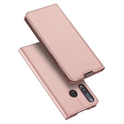 Duxducis Θήκη - Πορτοφόλι Huawei P40 Lite E - Pink (200-106-157)