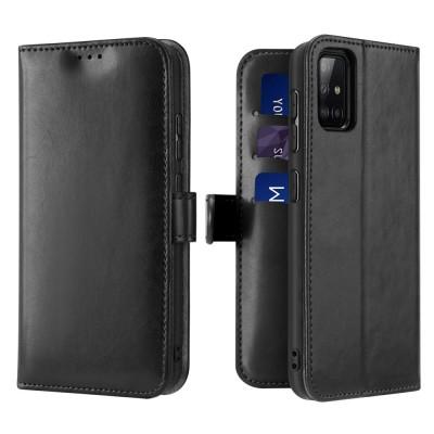 Dux Ducis θήκη πορτοφόλι για Samsung Galaxy A51 - Black (200-105-980)