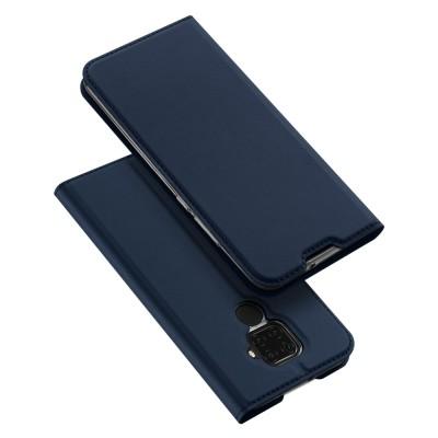 Duxducis Θήκη - Πορτοφόλι Huawei Mate 30 Lite - Blue (200-104-522)