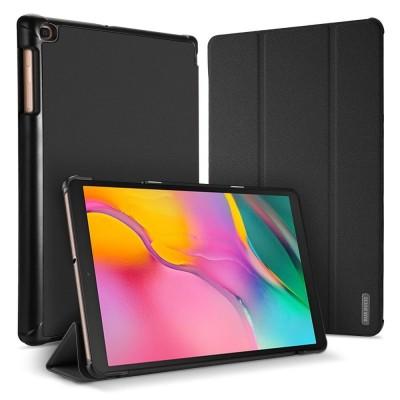Θήκη-smart cover για Samsung Galaxy Tab 10.1 (2019) μαύρη by Dux Ducis (200-104-964)