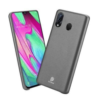 Duxducis Θήκη Από Συνθετικό Δέρμα για Huawei P Smart 2019 - Black (200-104-951)