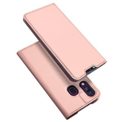 Duxducis SkinPro Flip Θήκη για Samsung Galaxy A40 - Ροζ (200-103-815)
