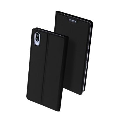 Duxducis SkinPro Flip Θήκη για Sony Xperia L3 -Black