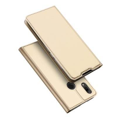Duxducis SkinPro Flip Θήκη για Huawei P Smart 2019 - Golden (200-104-835)