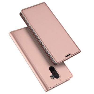 Duxducis SkinPro Flip Θήκη Xiaomi Pocophone F1 - Rose Gold