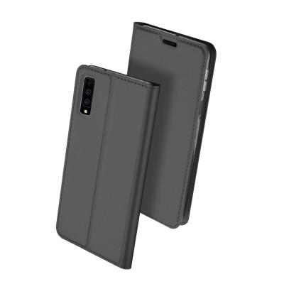 Duxducis SkinPro Flip Θήκη για Samsung Galaxy A7(2018) - Gray