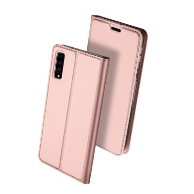 Duxducis SkinPro Flip Θήκη για Samsung Galaxy A7(2018) - Rose Gold
