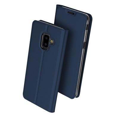 Duxducis SkinPro Flip Θήκη για Samsung Galaxy J6+(Plus) -Blue