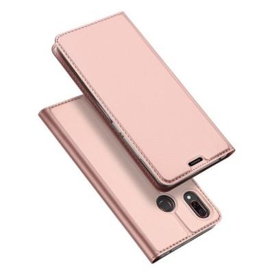 Duxducis SkinPro Flip Θήκη για Huawei Honor Play - Rose Gold