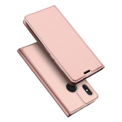 Duxducis Θήκη - Πορτοφόλι Xiaomi Redmi Note 6 Pro - Rose Gold