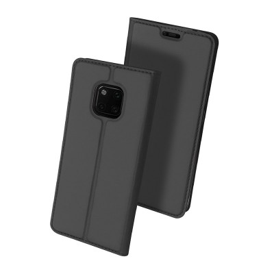 Duxducis SkinPro Flip Θήκη για Huawei Mate 20 Pro -Gray