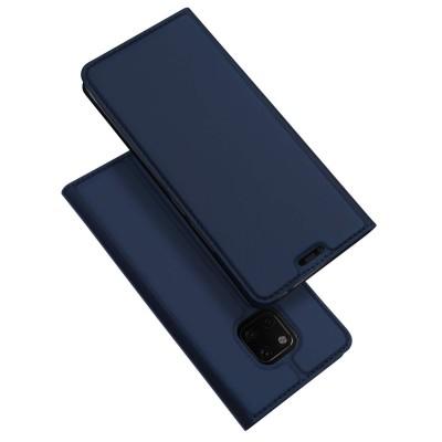 Duxducis SkinPro Flip Θήκη για Huawei Mate 20 Pro -Blue