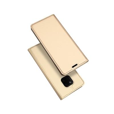 Duxducis SkinPro Flip Θήκη για Huawei Mate 20 Pro -Gold