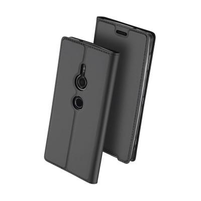 Duxducis SkinPro Flip Θήκη για Sony Xperia XZ3 -Gray
