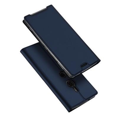Duxducis SkinPro Flip Θήκη για Sony Xperia XZ3 -Blue
