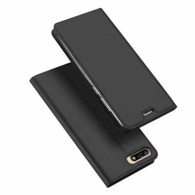 Duxducis SkinPro Flip Θήκη για Huawei Y6 (2018) -Gray