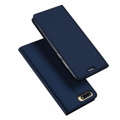 Duxducis SkinPro Flip Θήκη για Huawei Y6 (2018) -Blue