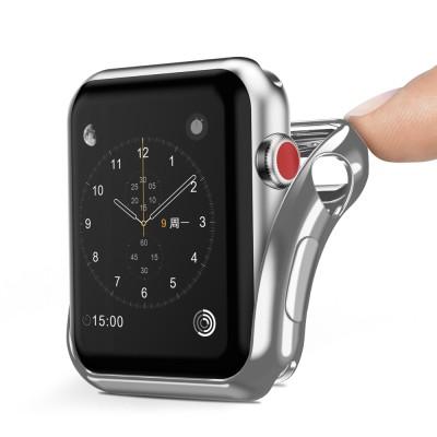 Dux Ducis θήκη σιλικόνης σε ασημί χρώμα για Apple Watch 2/3 42mm