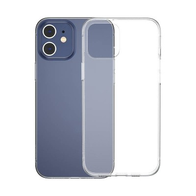 Baseus Simple Series Back Cover Σιλικόνης για iPhone 12/12 Pro Transparent (200-107-232)