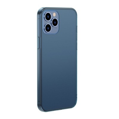 Baseus ημιδιαφανή μπλε θήκη Frosted για iPhone 12 Pro Max (200-107-235)