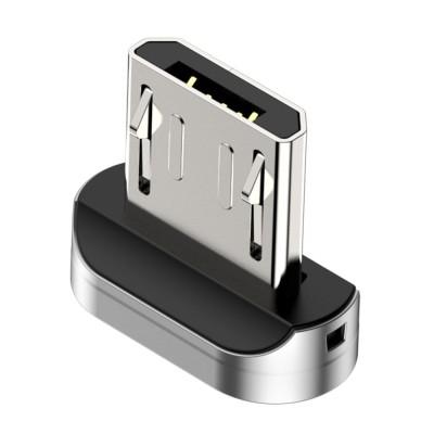 Baseus Μαγνητικός Αντάπτορας Micro-USB - Silver (200-104-517)