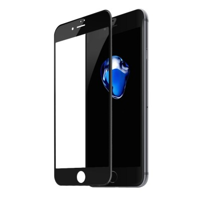 Baseus 3D Full Cover Tempered Glass (2 τεμάχια) για Apple iPhone 7 / 8 / SE (2020) – Black (200-107-583)